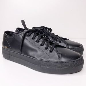 Woman by Common projects leather lace up sneakers